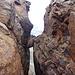 Der Klemmblock am Gipfel des Rötlspitz