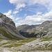 Blick das Val Schumbraida hinab ins Val Mora