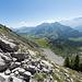 Unterwegs zum Mont d'Or