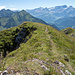 Gipfel Mont d'Or mit unserer Abstiegsroute
