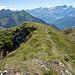 Gipfel Mont d'Or mit unserer Abstiegsroute