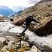 Io salto del fiume