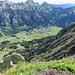Nesselwängle e le sue montagne.