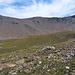 Auf 2800 m fängt die Schiefer-Zone an