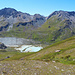 Lac de Châteaupré beim Moiry-Glacier-Parking