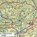 Karte von Litauen mit eingezeichneter Lage vom Landeshöhepunkt Aukštojas / Aukštasis kalnas (293,84m).<br /><br />Rot eingekreist ist auch die schöne Hauptstadt Vilnius, welche bei keinem Litauenbesuch fehlen darf.