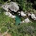 Die Osura, welche 5 km später unterhalb Brione in die Verzasca fliesst
