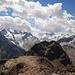 Blick vom Gipfel des Piz Surlej