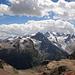 Kleiner Schwenk Richtung Südost, Diavolezza, ganz links der Munt Pers