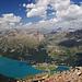 Der Silvaplaner See sieht fast aus wie ein Norwegischer Fjord, ist halt nicht ganz so tief