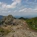 Blick vom Gipfel nach Nordwest