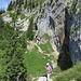 Risaliamo diretti alla Bergzigeuerhütte.