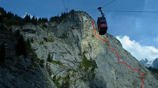 Klettersteig Graubünden : Klettersteig luzern: brunnistöckli luzern tourismus.