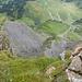 Die steilen Abbrüche am Diedamskopf