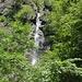 Und nochmals der Wasserfall – diesmal von vorne.