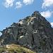 cresta NE del Cazzài dalla sella 2300 m