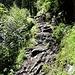 steinige Wegführung