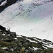 Rückblick zum Gletscher.