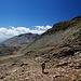 Auf dem Weg zum Passo del Lago Monte