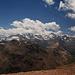 Blick vom Gipfel zur Bernina
