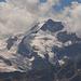 Piz Bernina mit Biancograt rechts