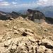 Abstieg vom Piz Tuf in Richtung Piz Tarantschun