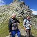 Carlo ed Aliona al Passo del Gatto.