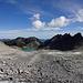 Schon eindrücklich: Durch den Gletscher strukturierte Geröllhalden am Pizol