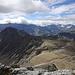 Blick übers Plateau des Giblistocks mit seinem erstaunlich resistenten Mini-Gletscher