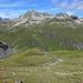 Unterer grüner Teil des Kars unter dem Arpschella