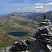 Auf dem Gipfel des Pizzo dell'Uomo, mit Sicht Richtung Winterhorn.