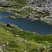 Ein namenloser See unterhalb dem Laghi d'Orsirora.