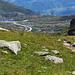 Sicht auf den Gotthardpass.