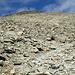 l'ultimo tratto del sentiero per il Munt Pers
