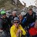 Gipfelefoto von den unbekannten Berggipfel. Verlmutlich handelt es sich um den Nebengipfel von Radesha.