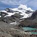 hochalpine Gletscherwelt am Fletschhorn