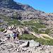 verso il Colle di q. 2600 m