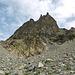 Les Ecrins défendent fièrement leurs sommets par de vastes pierriers...