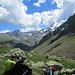 Blick vom Passo delle Pecore auf den Weiterweg.