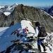 Gipfel mit kurzem steilen Anstieg