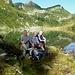 Am Lago d'Alzasca: [u Jimmy], [u Seeger] und [u lucama]