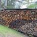 Non manca la legna per cucinare e scaldare la capanna!