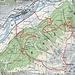GPS-Track. ich ging im Uhrzeigersinn. P.2036.2 ist auf den neuen Karten jetzt P. 2640.