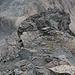beim Abstieg, das ist eigentlich die erste Schlüsselstelle nach dem Bocktenhornsattel.