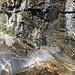 die obligatorische Dusche im Abstieg zurück nach Grindelwald..