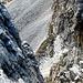 Uno dei due canali ripidissimi che salgono dalla Val Bergalga