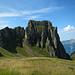 Imposant ist der Anblick des Sächsmoor im Abstieg zur Zigerfurgglen.