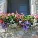 Blumenschmuck in Yvoire