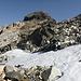 Monte Forno mit letzten Resten des einstigen Gletschers