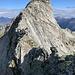"""""""Ghupft wie gschprunge"""" gilt nur für die Steinböcke, die sich schon davon gemacht haben...ich muss am ausgesetzten und z.T. brüchigen Felsgrätchen (III) zum Gipfel 2820 im Bianca SSE-Grat aufmerksam solide Griffe suchen und sorgfältig die Füsse aufsetzen"""